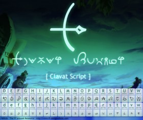 Crystal Chronicle font