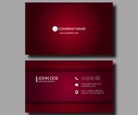 Business card vector for free download dark red business card template vector fbccfo Choice Image
