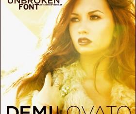 Demi Lovato font