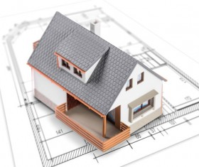 Design of the house model HD picture