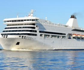 Different Cruise Ships Stock Photo 01