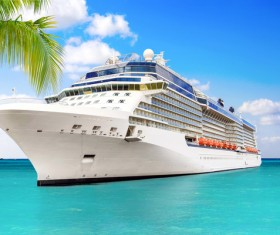 Different Cruise Ships Stock Photo 04