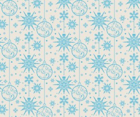 Elegant christmas pattern template seamless vector 02