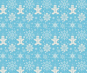 Elegant christmas pattern template seamless vector 04