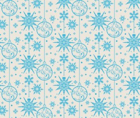Elegant christmas pattern template seamless vector 06