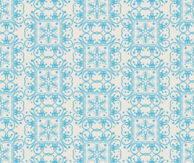 Elegant christmas pattern template seamless vector 07