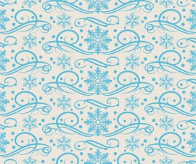 Elegant christmas pattern template seamless vector 09