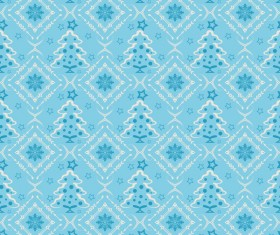 Elegant christmas pattern template seamless vector 10