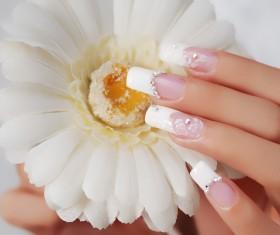 European nail Stock Photo