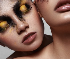 Fashion Female Models with Beauty Makeup HD picture 02