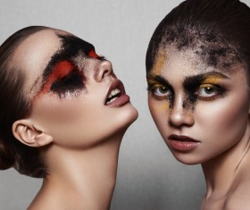 Fashion Female Models with Beauty Makeup HD picture 03