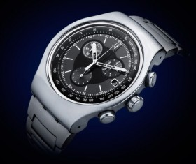 Fashion Men's Watch Stock Photo