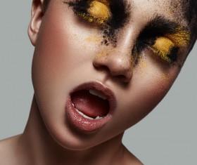 Fashion beauty makeup HD picture 03