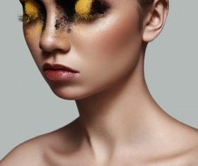 Fashion beauty makeup HD picture 06