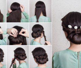 Fashion female hair styling HD pictures 01