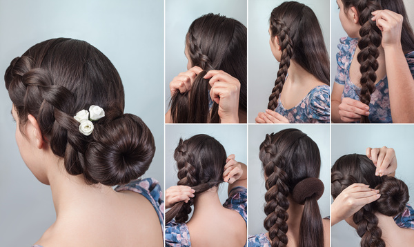 Fashion Female Hair Styling Hd Pictures 02 Free Download