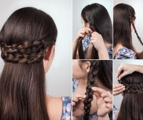 Fashion female hair styling HD pictures 03