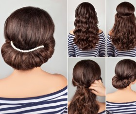 Fashion female hair styling HD pictures 06