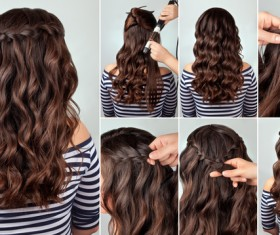 Fashion female hair styling HD pictures 07