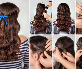 Fashion female hair styling HD pictures 08