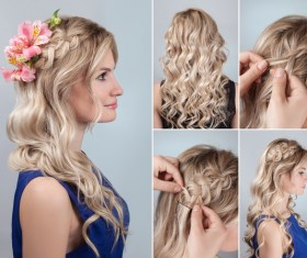Fashion female hair styling HD pictures 09