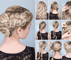 Fashion female hair styling HD pictures 11
