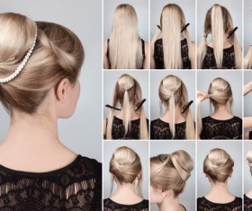 Fashion female hair styling HD pictures 12