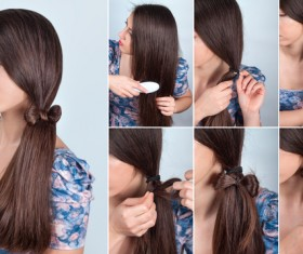Fashion female hair styling HD pictures 13