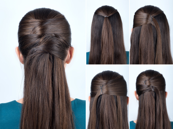 Fashion female hair styling HD pictures 35 free download