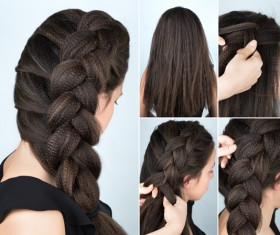 Fashion female hair styling HD pictures 41