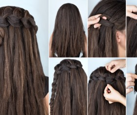 Fashion female hair styling HD pictures 42