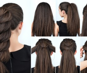 Fashion female hair styling HD pictures 43