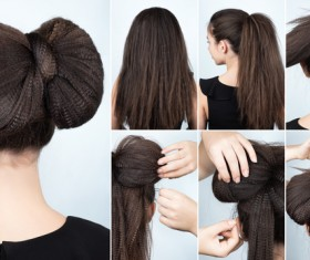 Fashion female hair styling HD pictures 44