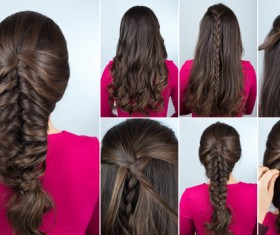 Fashion female hair styling HD pictures 45