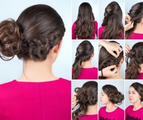 Fashion female hair styling HD pictures 46