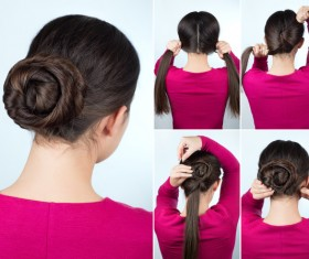 Fashion female hair styling HD pictures 48