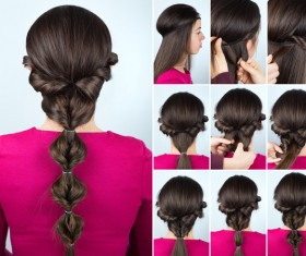 Fashion female hair styling HD pictures 49