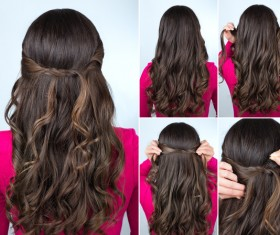 Fashion female hair styling HD pictures 50