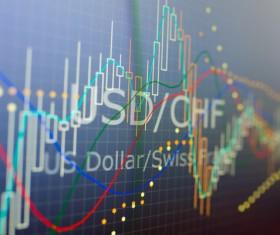 Financial stock market Stock Photo