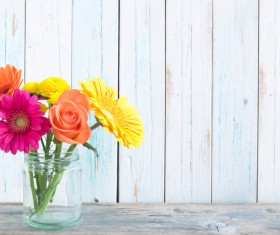 Floral Art Stock Photo