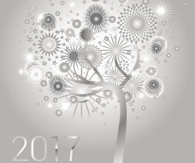 Glowing tree design 2017 HD picture 07