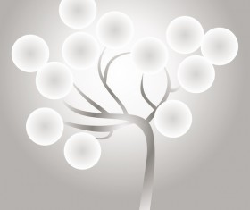 Glowing tree design 2017 HD picture 08