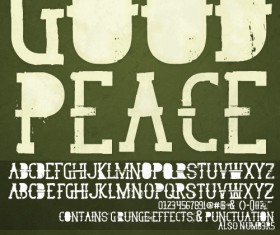 Good Peace font