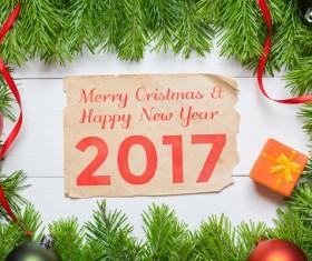Happy New Year 2017 Stock Photo 05
