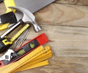 Home repair tools Stock Photo