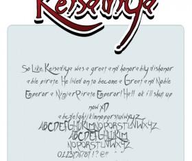 Keisadiya font pack