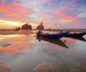 Lakes Sunrise Landscape Pictures