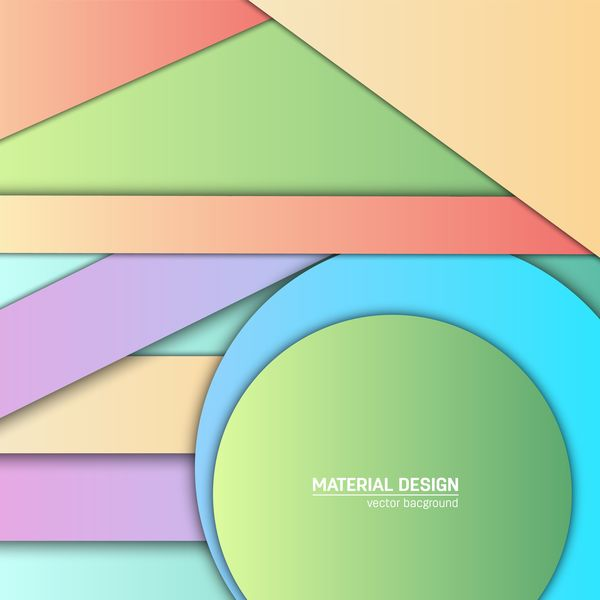Layered colored modern background vectors 03