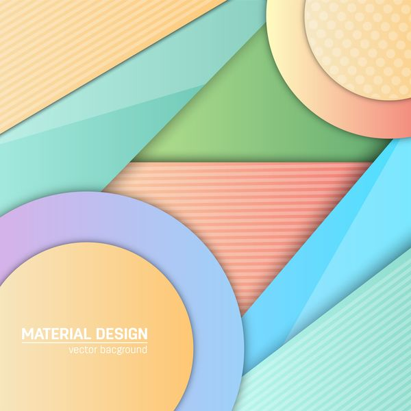 Layered colored modern background vectors 04
