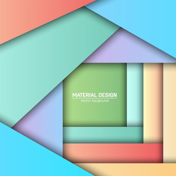 Layered colored modern background vectors 06